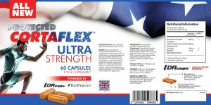 BRAND NEW - Protected Cortaflex Ultra Strength Capsules (60 x 450mg)